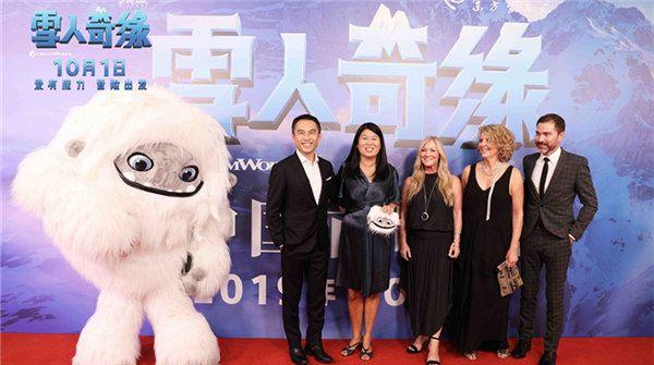 《雪人奇缘》中国首映好评如潮网友:这绝对是十一最萌的电影