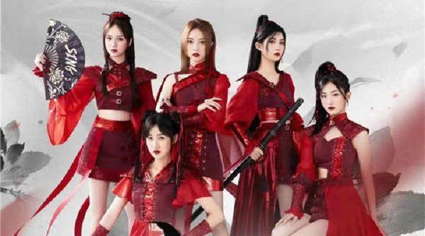 SING女团全新EP首支单曲《红莲》上线 觉醒女性力量
