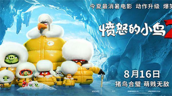 《愤怒的小鸟2》国内定档8月16日猪鸟联手开启爆笑萌贱大冒险