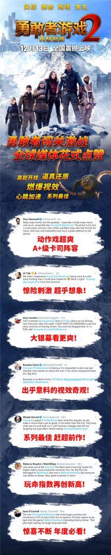 《勇敢者游戏2:再战巅峰》社交媒体口碑媒体盛赞.jpg