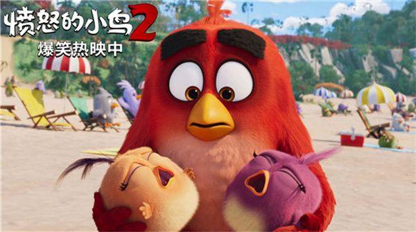 """《愤怒的小鸟2》次周末票房逆跌笑点萌点齐飞金曲彩蛋""""共响"""""""