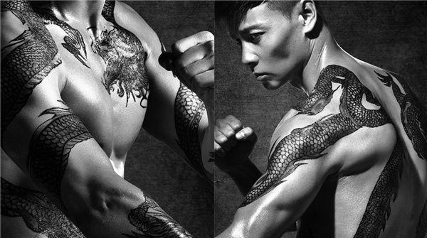 《九龙不败》曝光张晋写真大片 逆天肌肉荷尔蒙爆棚