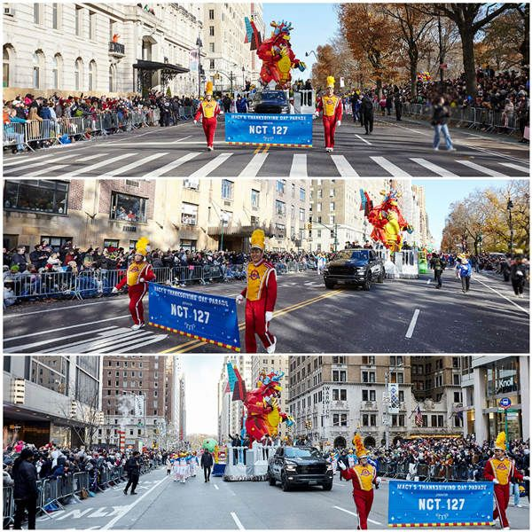 NCT 127 'Macy's Thanksgiving Day Parade' 现场照片2.JPG